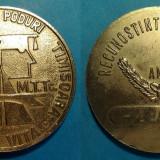 Medalii Romania - Directia drumuri si poduri Timisoara recunostinta muncii