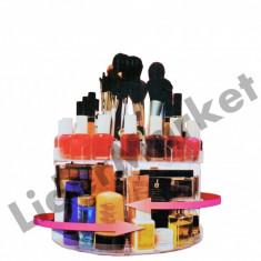 Suport rotativ pentru produse cosmetice - pana la 200 articole !