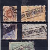 TELEGRAFICE 13 X 1871 ; RARE - Timbre Romania, An: 1873, Transporturi, Stampilat