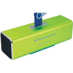 Mp4 playere - Player TECHNAXX MusicMan MA SoundStation, verde