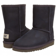 Ghete copii - UGG Kids Classic Short Leather (copii) | 100% originali, import SUA, 10 zile lucratoare - z12809