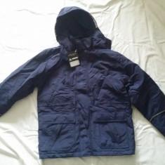 Geaca, haina iarna, Matterhorn cu gluga, noua - Geaca barbati, Marime: XS, Culoare: Bleumarin