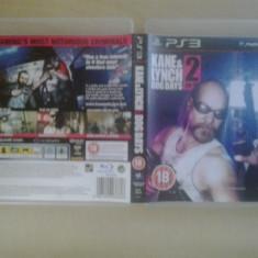 Jocuri PS3, Actiune, 18+, Multiplayer - Kane & Lynch 2 Dog Days - Joc PS3 - Playstation 3 - PS 3 ( GameLand )