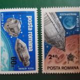 "Timbre Romania, Nestampilat - Romania 1969 LP 702 - serie nestampilata MNH ""Apollo 9 si 10"""