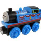 Wooden trenulet jucarie Thomas - EXPRESS THOMAS locomotiva lemn cu magnet - NOU - Trenulet de jucarie, Unisex