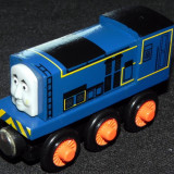 Wooden trenulet Thomas - SIDNEY locomotiva din lemn cu magnet -100% original-NOU - Trenulet de jucarie, Unisex