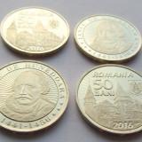 50 bani 2016 Iancu de Hunedoara UNC necirculata din fisic - Moneda Romania, Alama