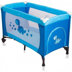 Patut Pliabil Samba 2016 Coto Baby Albastru - Patut pliant bebelusi
