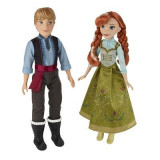 Papusi Frozen Anna And Kristoff Doll Pack Of 2 - Papusa