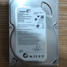 HDD PC Seagate 500Gb Sata - Hard Disk Seagate, 500-999 GB, Rotatii: 7200