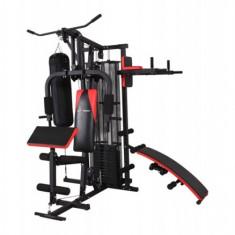 Aparat multifunctionale fitness - Aparat multifunctional 4 posturi de antrenament Actuell DM-4800