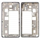 Carcasa Spate Cu Rama Samsung Galaxy Note 4 SM-N910F Originala Argintie