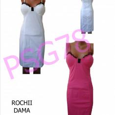 ROCHII DE VARA - MEXTON, MODEL DEOSEBIT, LIVRARE GRATUITA - Rochie de zi, Midi, Cu bretele, Bumbac