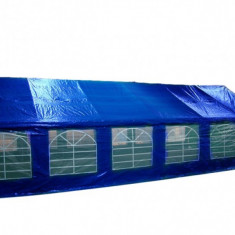 Mobila terasa gradina - Cort de evenimente, semiprofesional 6x12 m, albastru