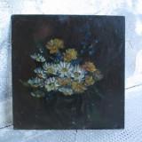 Flori de camp, pictura in ulei - Pictor roman, Altul
