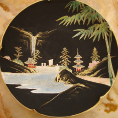 FARFURIE DECORATIVA DIN PORTELAN JAPONEZ KIYOTO