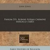 Fanum Sti. Albani Poema Carmine Heroico (1683)