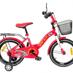 Bicicleta copii MyKids Toma Fire Station Red 18