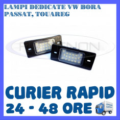 Led auto ZDM, Universal - SET LAMPI NUMAR INMATRICULARE VOLKSWAGEN VW BORA, GOLF 4, PASSAT B5.5, TOUAREG