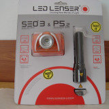 Lanterna - Lanterne LED LENSER sigilate set 2 buc.