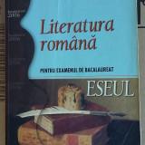 Teste Bacalaureat, Art - ESEUL LITERATURA ROMANA, PENTRU EXAMENUL DE BACALAUREAT .