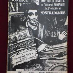 Carte despre Paranormal - Vlaicu Ionescu - Prabusirea Imperiului Sovietic si viitorul Romaniei in profetiile lui Nostradamus - 540792
