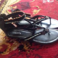 Sandale dama - Sandale de vara cu margelute