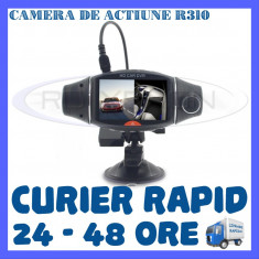 CAMERA VIDEO DVR AUTO MARTOR ACCIDENT DUAL R310 CU GPS - SUPRAVEGHERE AUTO - Camera video auto ZDM, 32GB, Wide, Double, Senzor imagine MP CMOS: 12, miniUSB