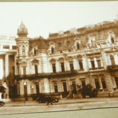 Bucuresti-Palatul Sturdza 1944-print 2007-bicicleta - 2+1 gratis - RBK12565 - Carte Postala Muntenia dupa 1918, Circulata, Fotografie