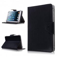 Husa Tableta 7 Inch Model X, Negru, Tip Mapa, Prindere 4 Cleme C88, 7 inch, Universal