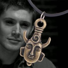 Pandantiv/Medalion Pentagrama Supernatural demon dean amuleta