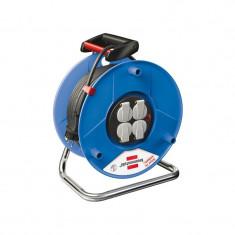 Prelungitor electric rola Brennenstuhl, 50 m, Albastru