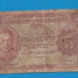 Malaezia 5 cents 1941 1 - bancnota asia