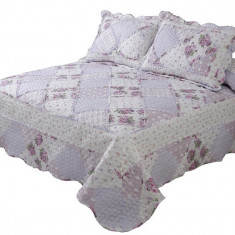 Cuvertură de pat dublu Valentini Bianco A520/3