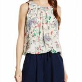 Top dama - Vero Moda - 10151754 ivoire, print floral - Bluza dama Vero Moda, Marime: L, Culoare: Alb