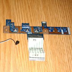 Placa butoane pornire wifi Emachines E525 E625 E725 Acer Aspire 5516 5517 5532 - Modul pornire