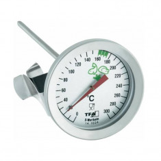 Termometru din inox TFA pentru ulei incins - Ceas barbatesc
