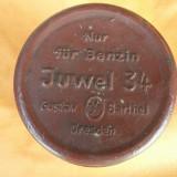 Metal/Fonta - LAMPA MILITARA WW 2 JUWEL BARTHEL 34, FOARTE RARA !!