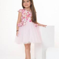 Rochie fete Flori si Veselie (Culoare: multicolor, Imbracaminte pentru varsta: 13 ani - 157 cm)