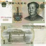 CHINA, 1 YUAN 1999, UNC