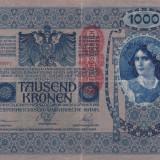 Bancnota Straine, Europa, An: 1902 - AUSTRIA 1.000 kronen 1902 VF+++!!!