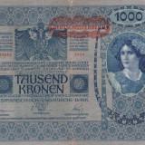 Bancnota Straine, Europa, An: 1902 - AUSTRIA 1.000 kronen 1902 VF!!!