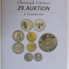Istorie - CATALOG DE LICITATII (MONEDE, BANCNOTE). CRISTOPH GARTNER, 29. AUKTION, 6-10 OKTOBER 2014