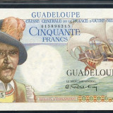Guadeloupe 50 francs 194749 Vizitati toate licitatiile mele cu REDUCERI masive