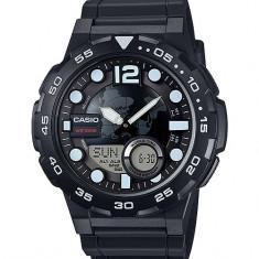 Ceas barbatesc Casio, Sport, Quartz, Cauciuc, Alarma, Electronic - Ceas Casio barbatesc cod AEQ-100W-1AVDF - pret 299 lei (NOU; ORIGINAL)