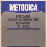 Constanta Barboi (coord.) - Metodica predarii limbii si literaturii romane in liceu - 550301