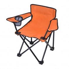 Mobilier camping - Scaun pliant pentru copii, suport pentru pahare