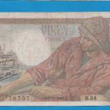 Franta 20 francs 1942 5 11 - bancnota europa