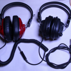Un lot de 2 casti audio anii 70 de colectie vechi functionale