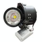 25W Spot LED COB Zoom Fitting Alb Rece 5000K - Bec / LED
